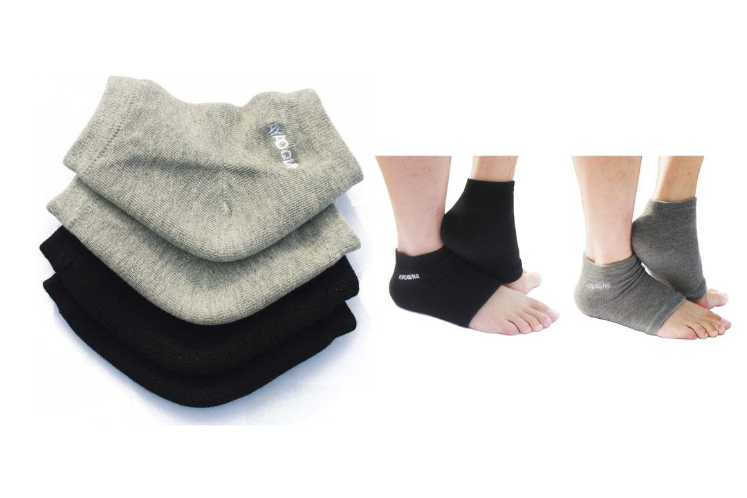 Open Toe Silicone Gel Heel Socks