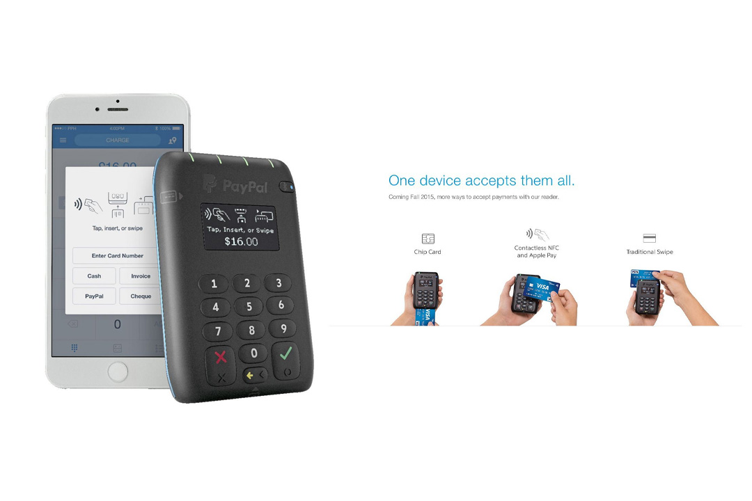 PayPal Chip Card Reader (EMV)