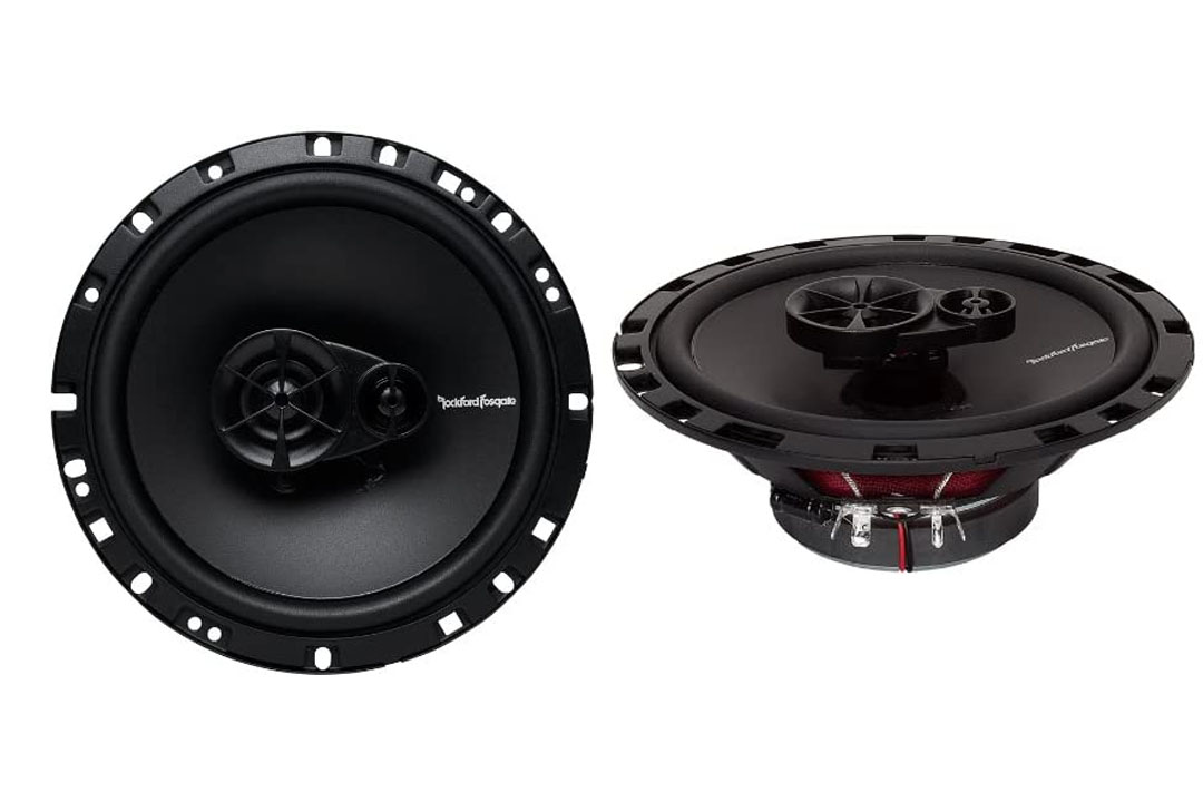 Rockford Fosgate R165X3 Prime 6.5-Inch Full-Range 3-Way Coaxial Speaker