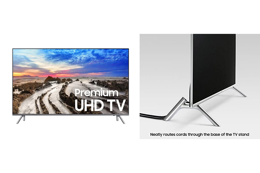 Samsung Electronics UN49MU8000 49-Inch 4K Ultra HD Smart LED TV