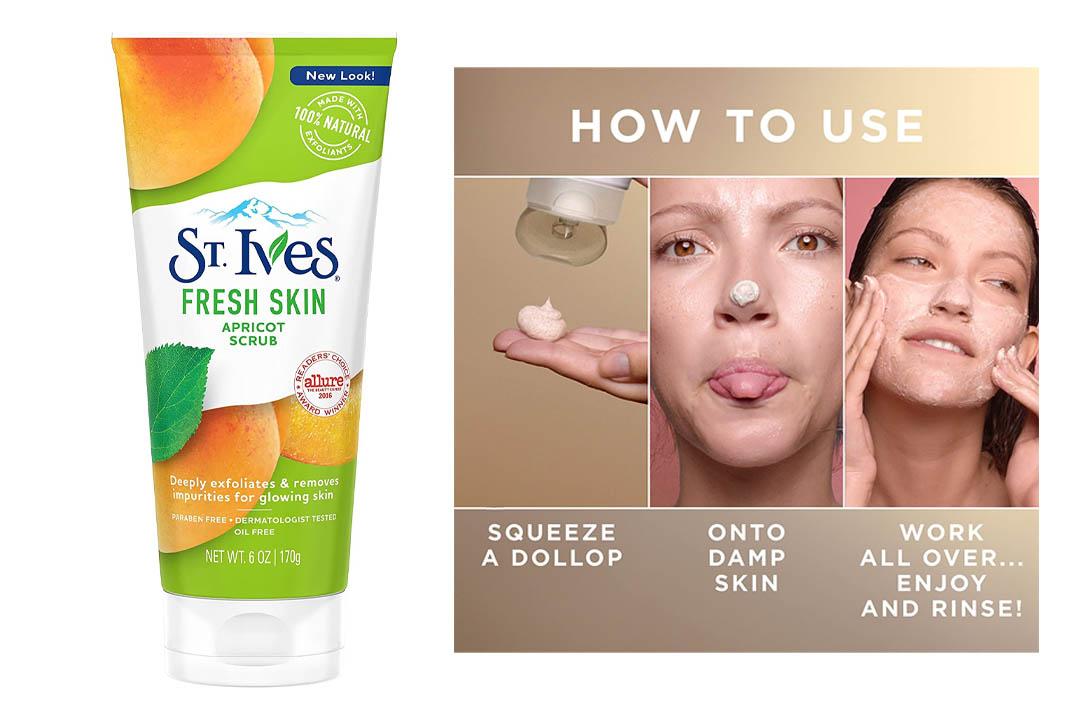 St. Ives Face Scrub Apricot 6 oz