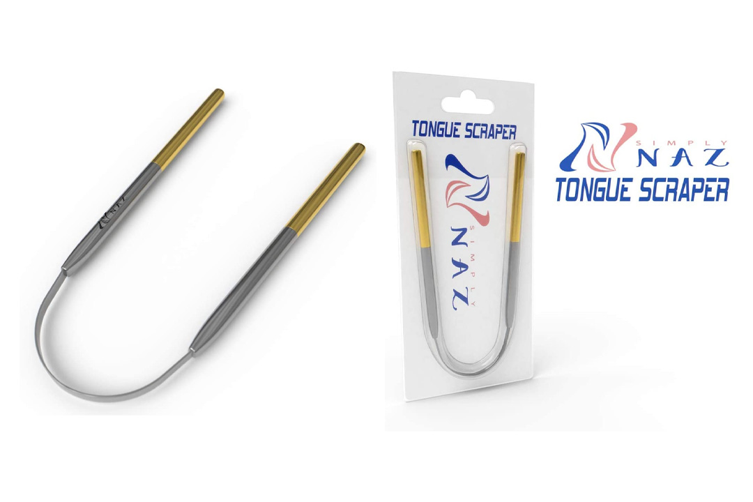 Tongue Scraper | Professional Stainless Steel Tongue Cleaner