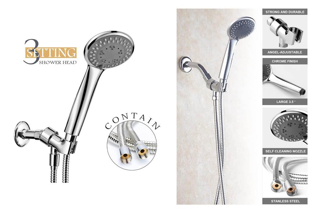 Aidodo 3 Settings Showerhead