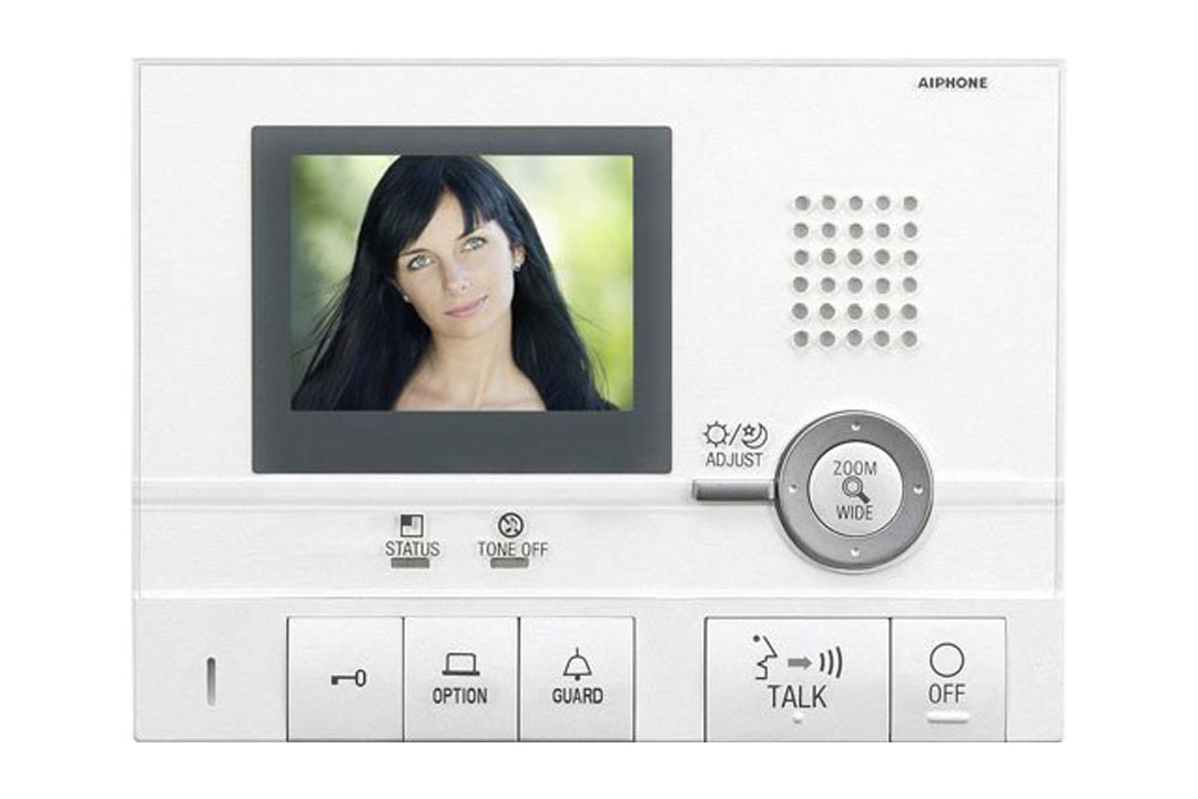 Aiphone Corporation GT-1C Hands-Free Video Tenant Station for GT Series