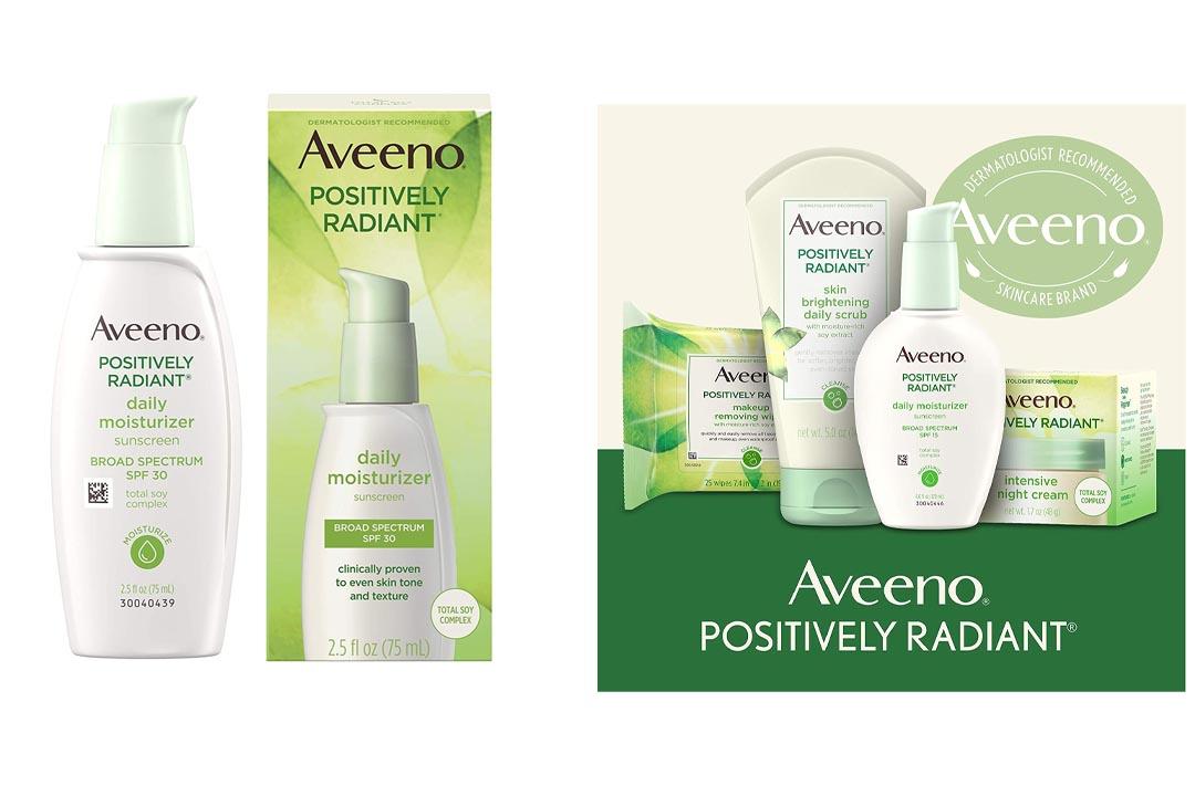 Aveeno Positively Radiant Daily Moisturizer