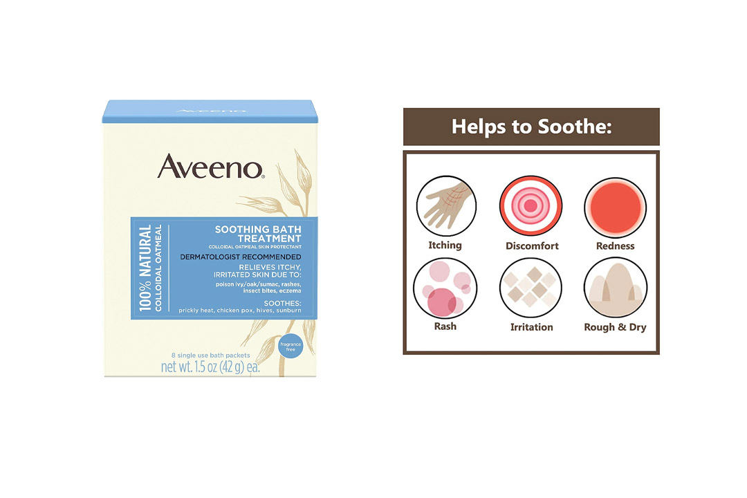 Aveeno Soothing Bath Treatment For Itchy, Irritated Skin