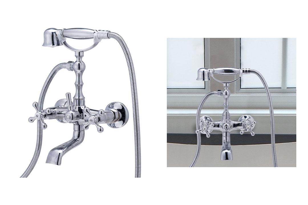 Clawfoot Bathtub Shower