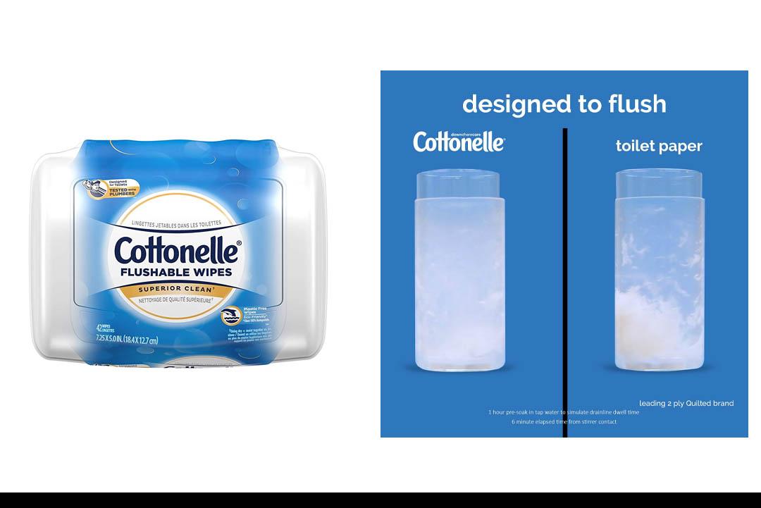 Cottonelle FreshCare Flushable Cleansing ClothsCottonelle FreshCare Flushable Cleansing Cloths