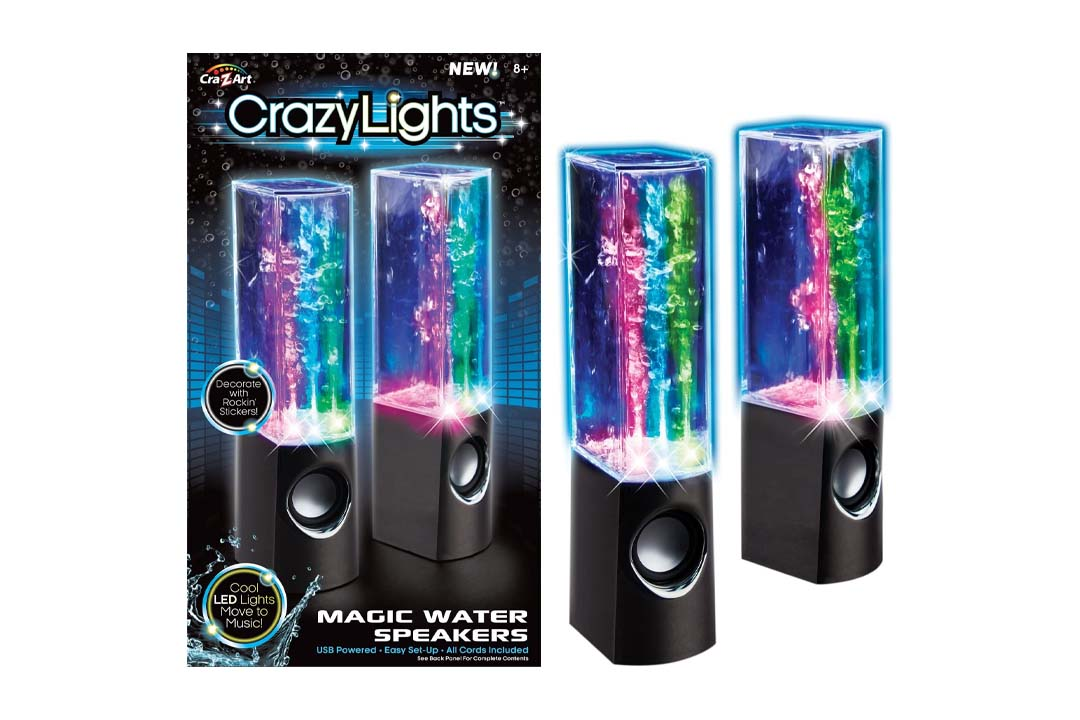 Cra-Z-Art Dancing Water Speakers