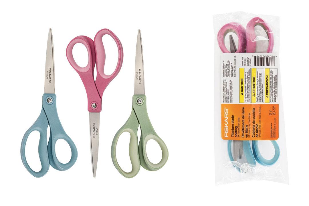 Fiskars 8 Inch Titanium Softgrip Scissors