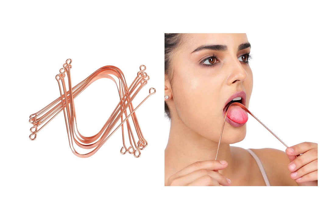 HealthAndYoga(TM) Copper Tongue cleaners