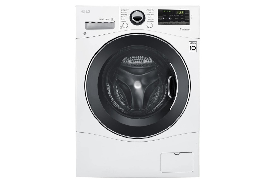 """LG WM3488HW 24"""" Washer/Dryer Combo with 2.3 cu. ft. Capacity"""