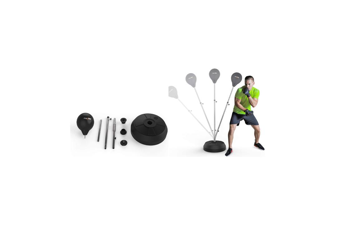 MaxxMMA Speed-Adjustable Freestanding Reflex Bag Ki