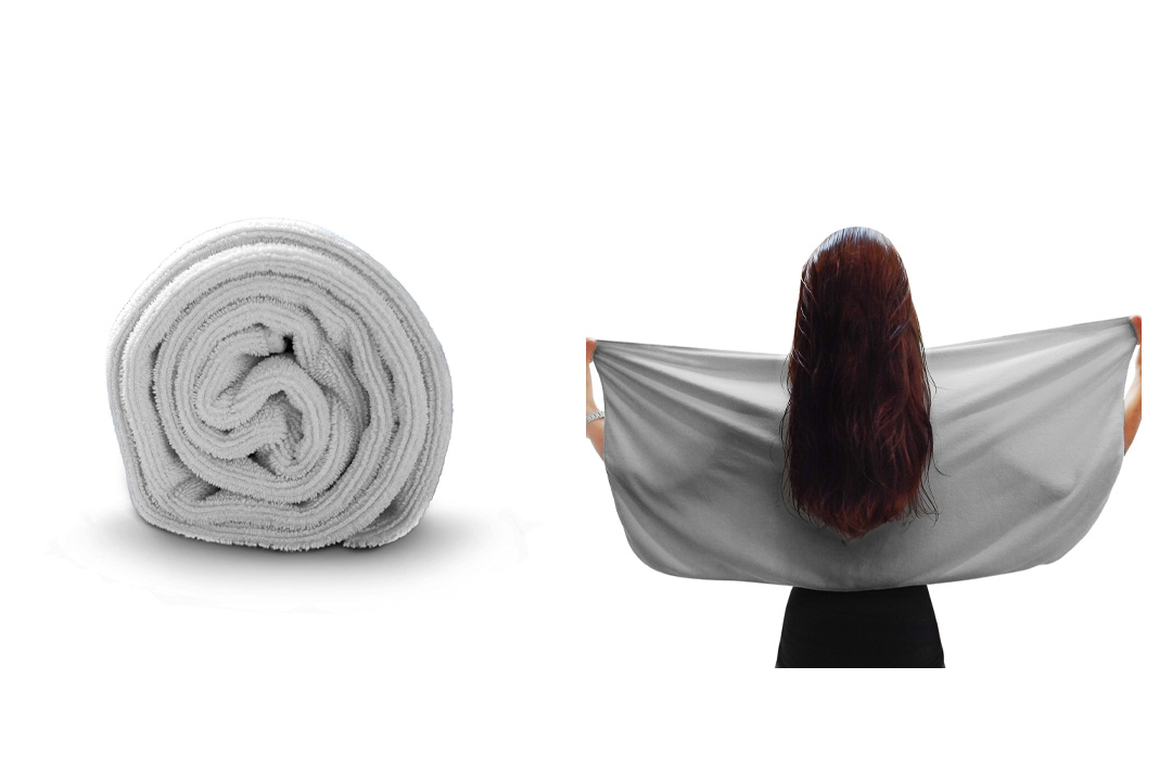 Microfiber Hair Towel By Luxe Beauty Essentials