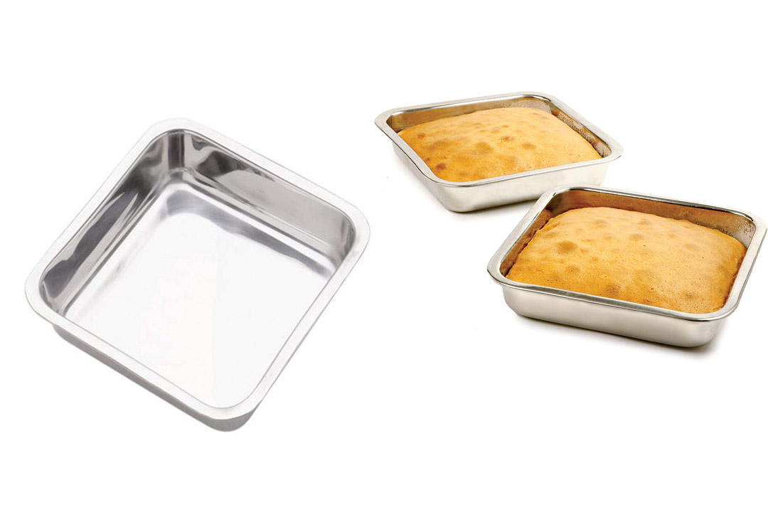 Norpro 8-inch Stainless Steel Cake Pan
