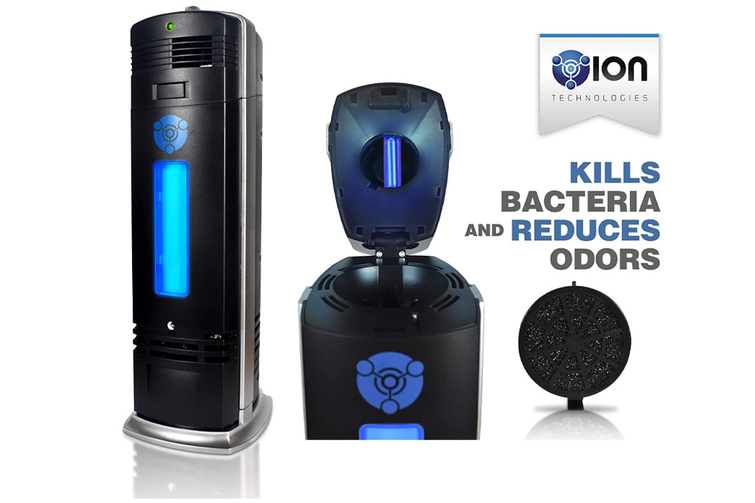 O-Ion B-1000 Permanent Filter Ionic Air Purifier Pro Ionizer