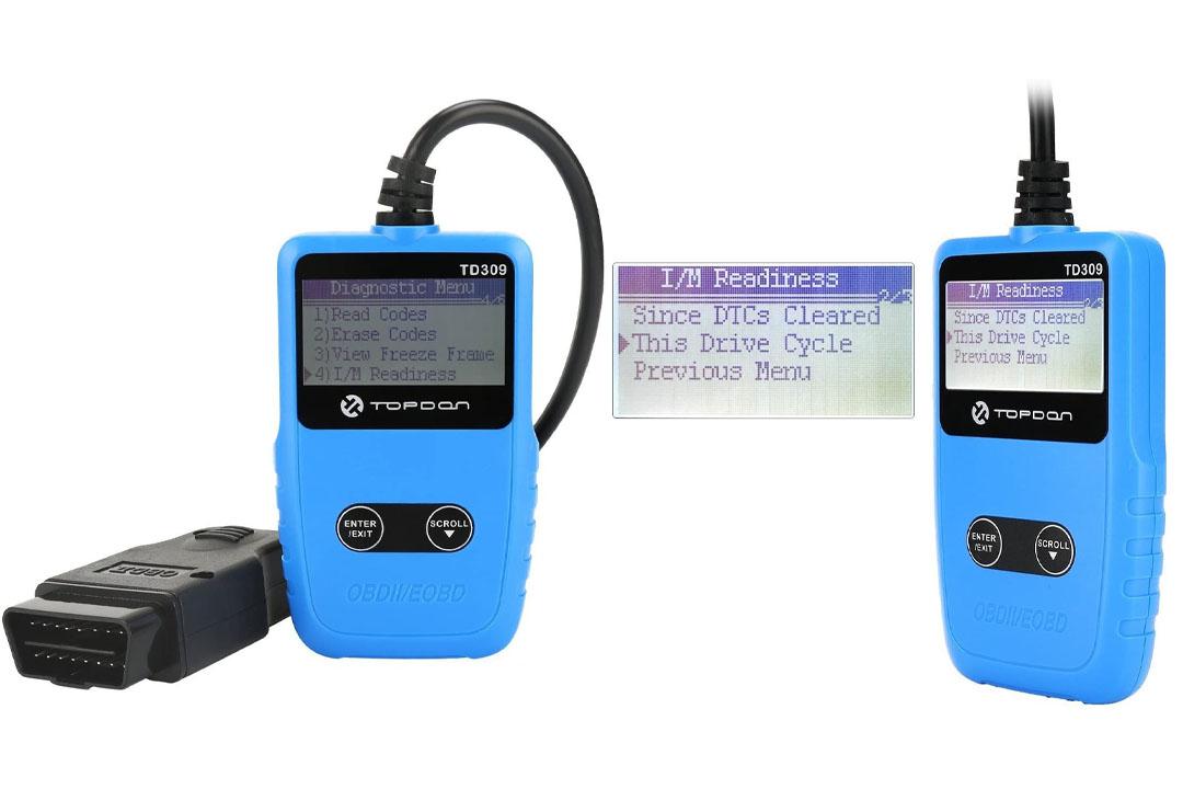 OBD2 Scanner TOPDON TD309 Auto Fault Code Reader Car