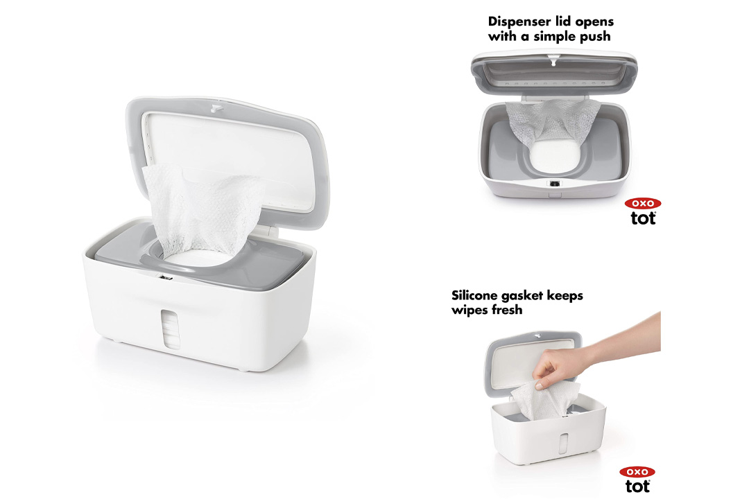 OXO Tot Perfect Pull Wipes Dispenser