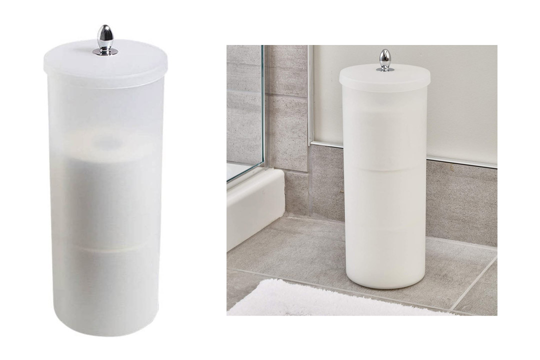 Orb Toilet Paper Holder Canister