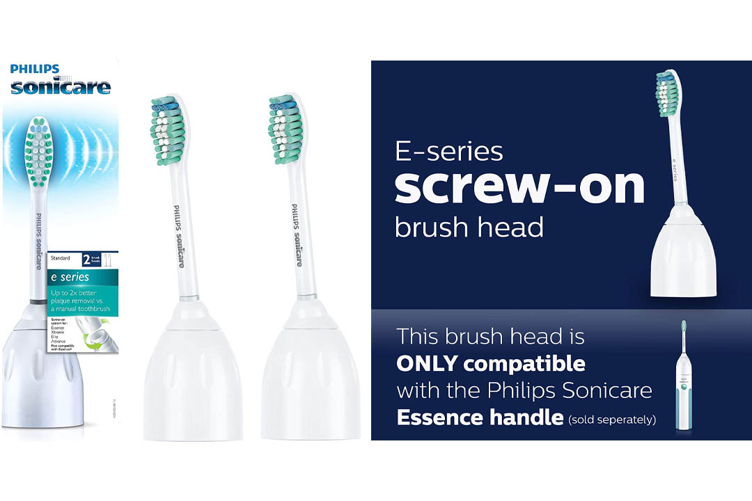 Philips Sonicare HX7022/66 Eseries Standard Replacement Brush Heads