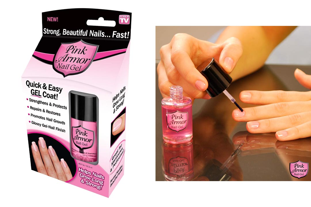 Pink Armor Nail Gel Treatment