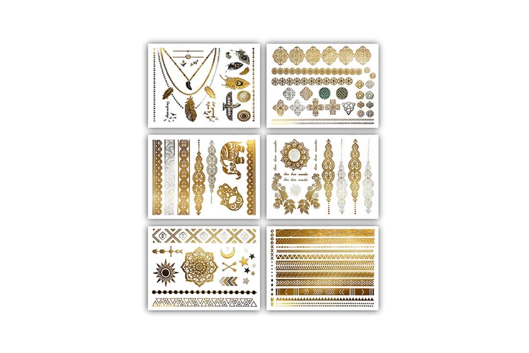 Premium Metallic Tattoos