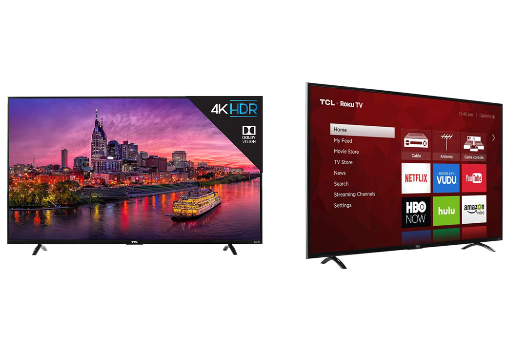 TCL 55P607 55-Inch Roku Smart LED TV