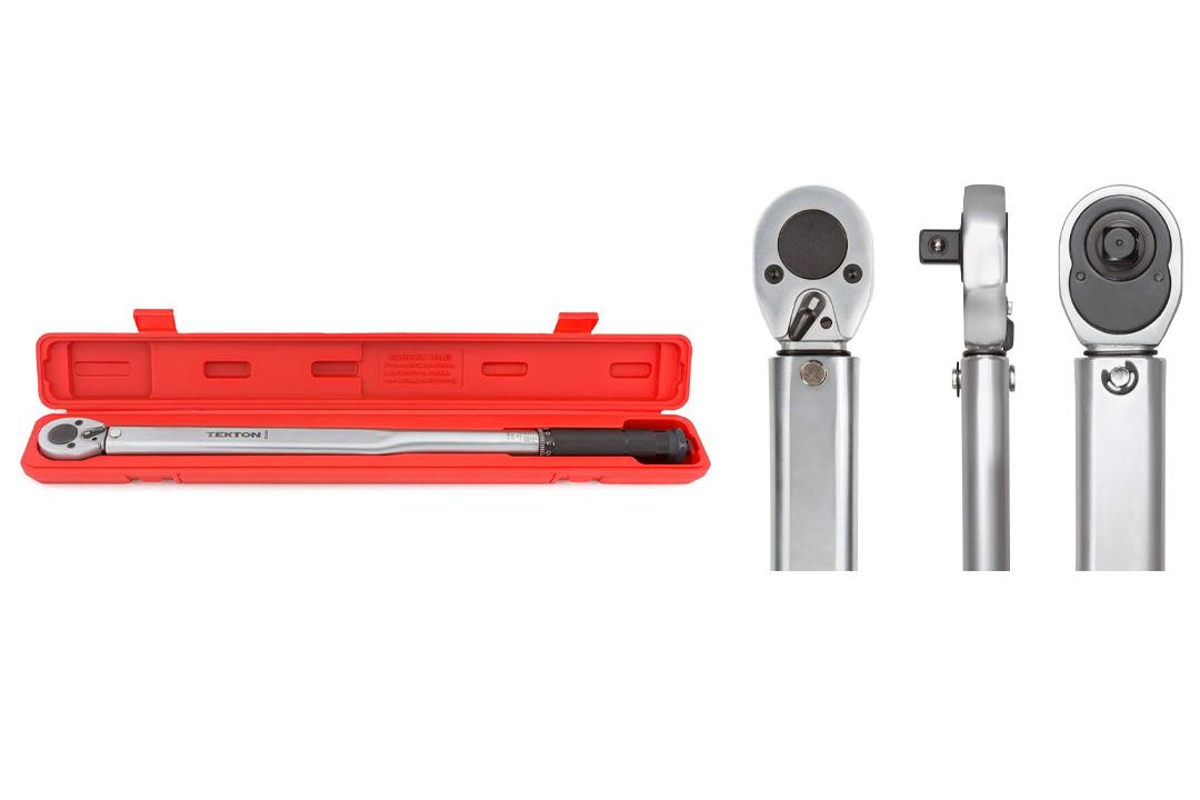 TEKTON 24340 1/2-Inch Drive Click Torque Wrench