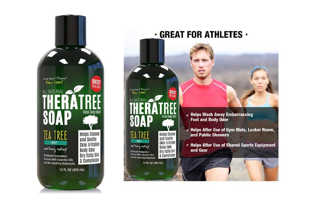 Therapeutic Tea Tree Oil Soap with Neem Oil