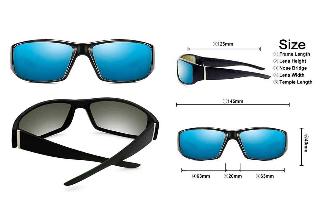 AMZTM Fishing Hiking Polarized Sunglasses for Men