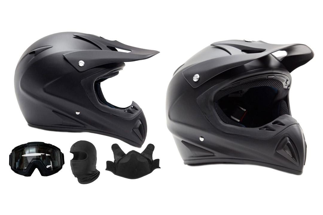 Adult Snocross Snowmobile Helmet