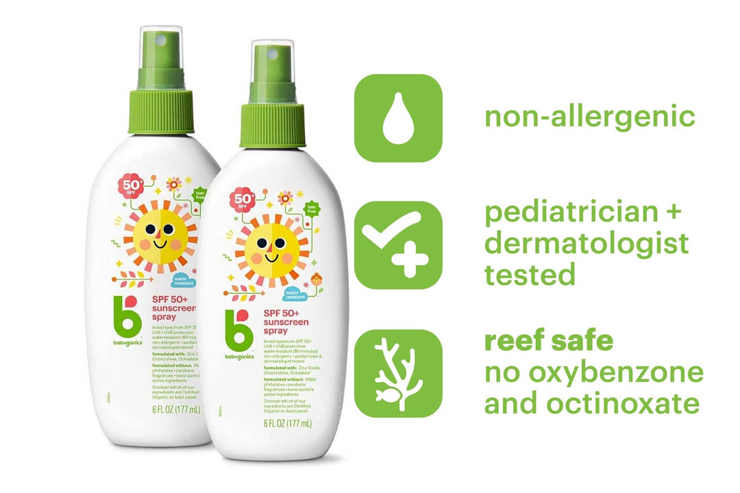 Babyganics Mineral-Based Baby Sunscreen Spray