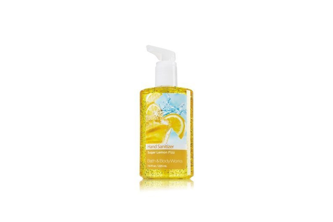 Bath & Body Works Sugar Lemon Fizz Full Size Hand Sanitizer