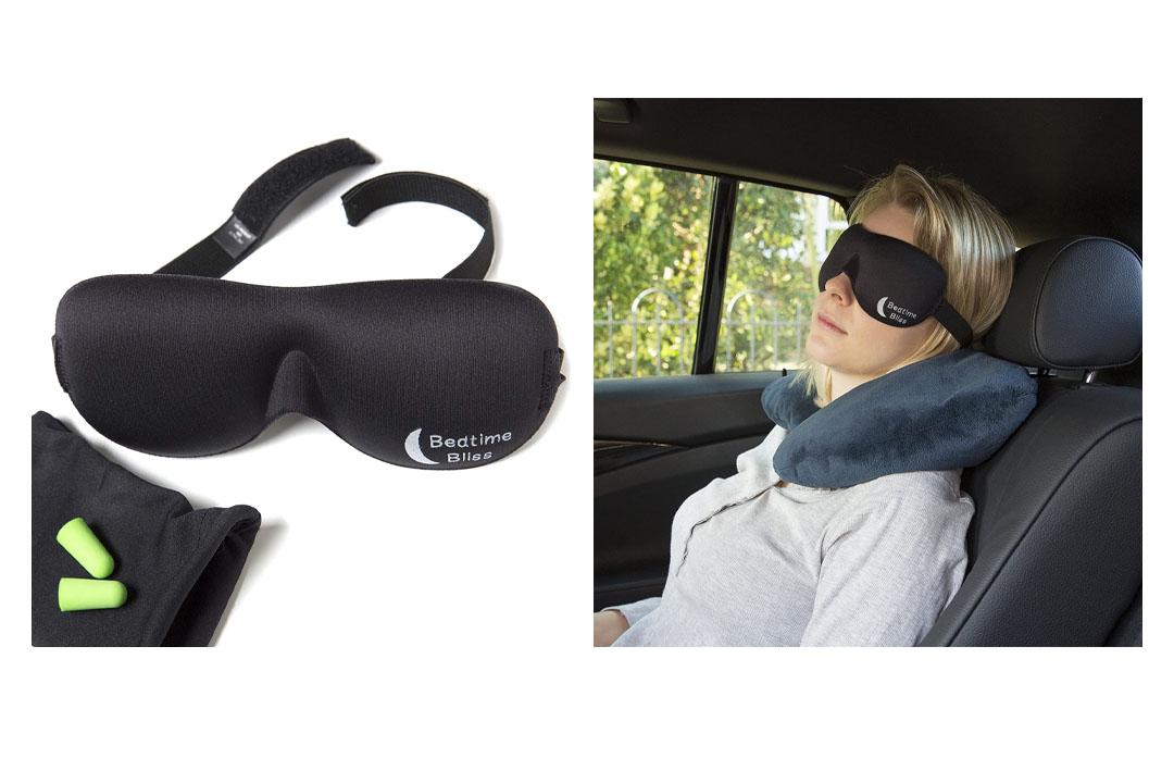 Bedtime Bliss® Contoured & Comfortable Sleep Mask