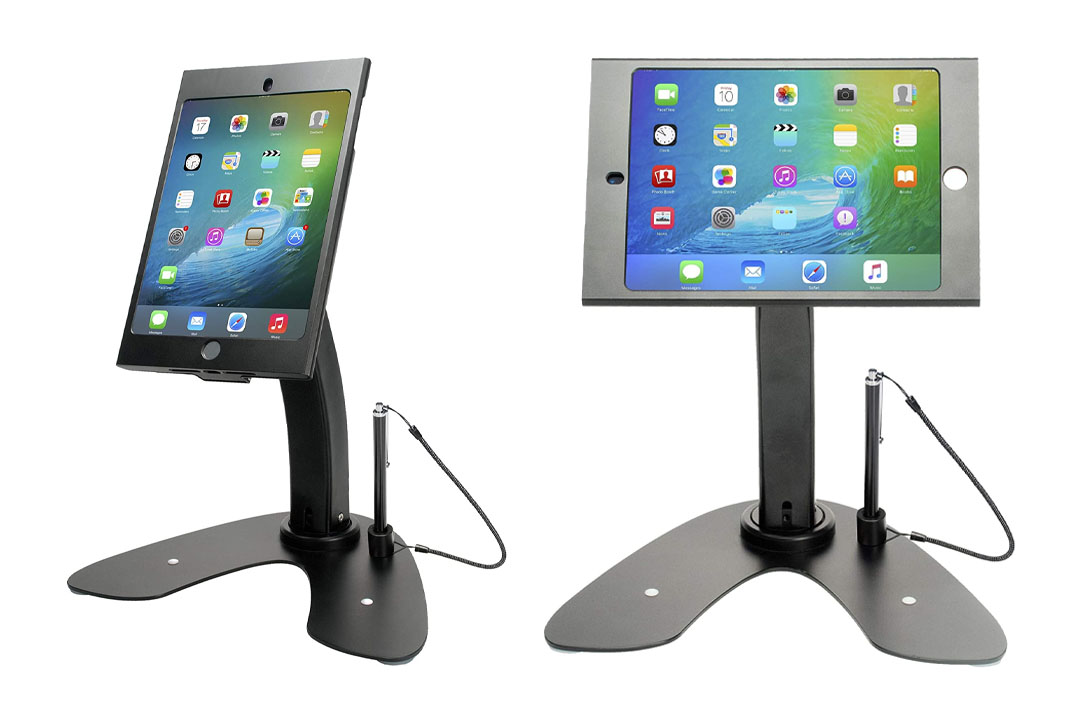 CTA Digital Dual Security Kiosk with Locking Case for iPad