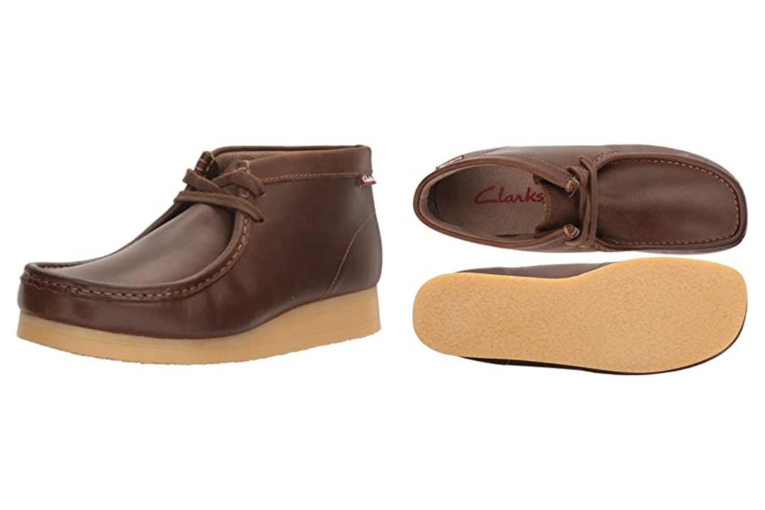 Clarks Men's Stinson Hi Wallabee Boot
