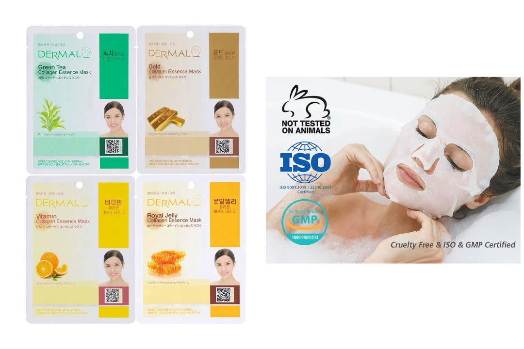 Dermal Korea Collagen Essence Full Face Facial Mask