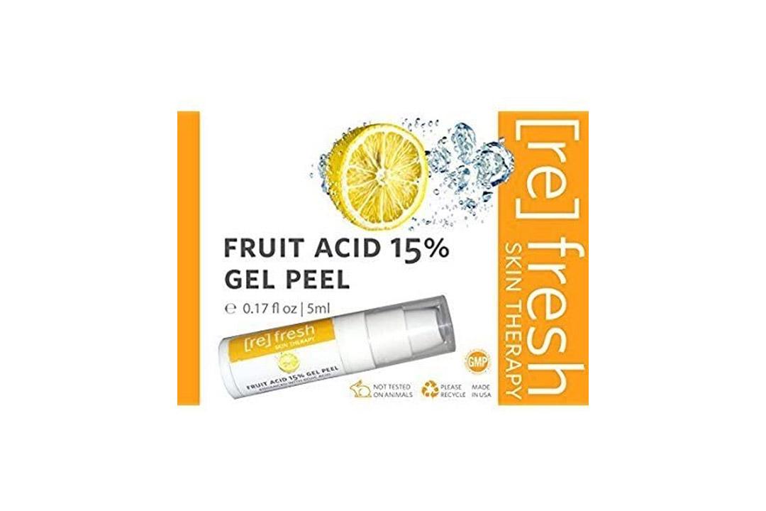 Fruit Acid 15% Gel Peel 5ml Small Travel Trial Size