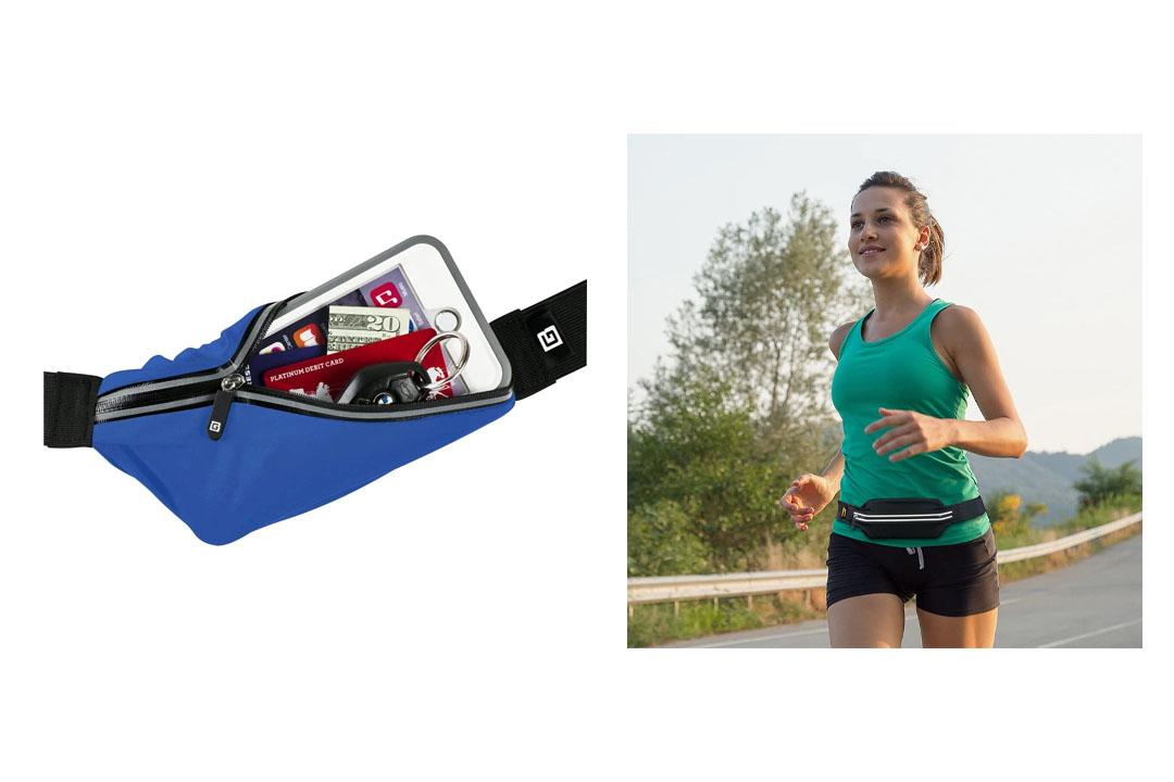 Gear Beast Running Belt Fanny Pack Waist Bag