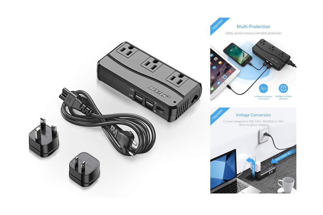 [Patent Protected] BESTEK Universal Travel Adapter