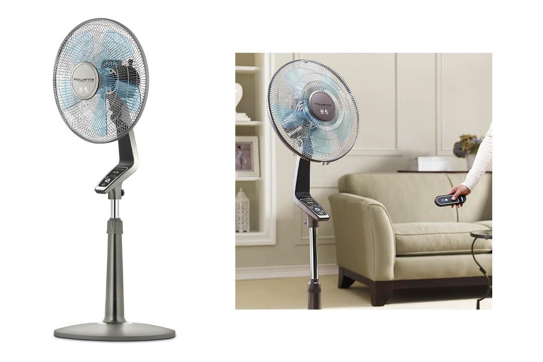 Rowenta Fan, Oscillating Fan with Remote Control