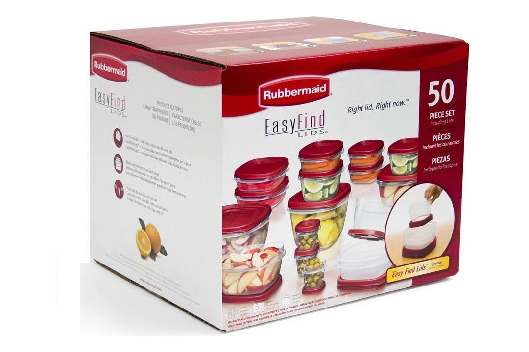 Rubbermaid Food Storage Set