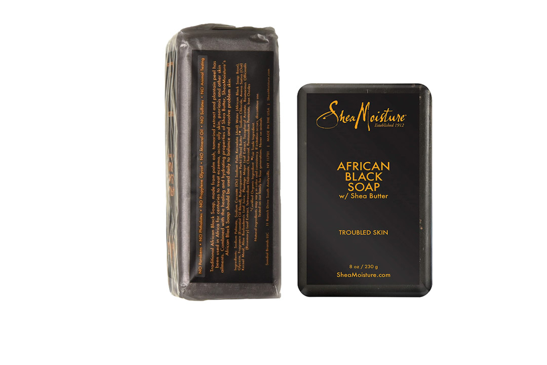 SheaMoisture 8 oz African Black Soap Bar