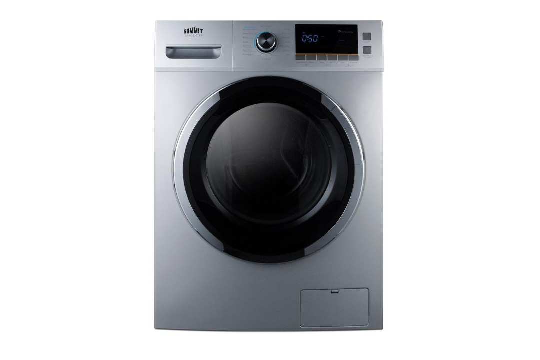 """Summit SPWD2201SS 24"""" Washer/Dryer Combo"""