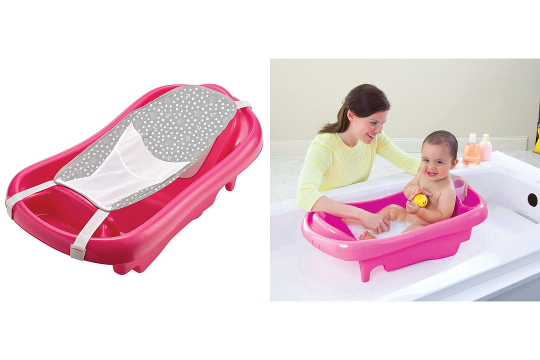The First Years Infant To Toddler Tub, Red