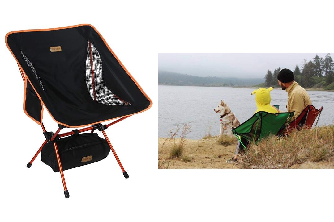 Trekology YIZI Go Portable Camping Chair Adjustable Height