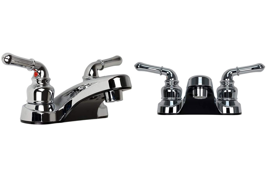 Ultra UF08042C Two-Handle Chrome Lavatory Faucet