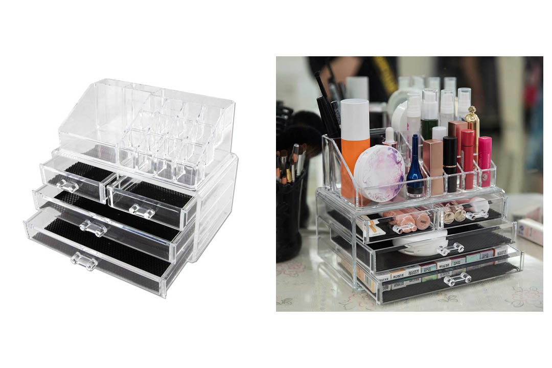 Vencer Standard-size Jewelry & Cosmetic/makeup Organizer Set