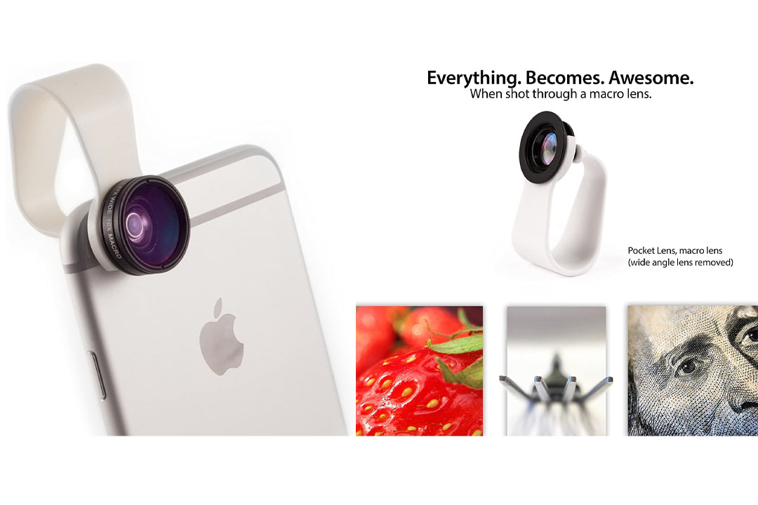 iPhone Camera Lens and Smartphone Lens Kit by Pocket Lens