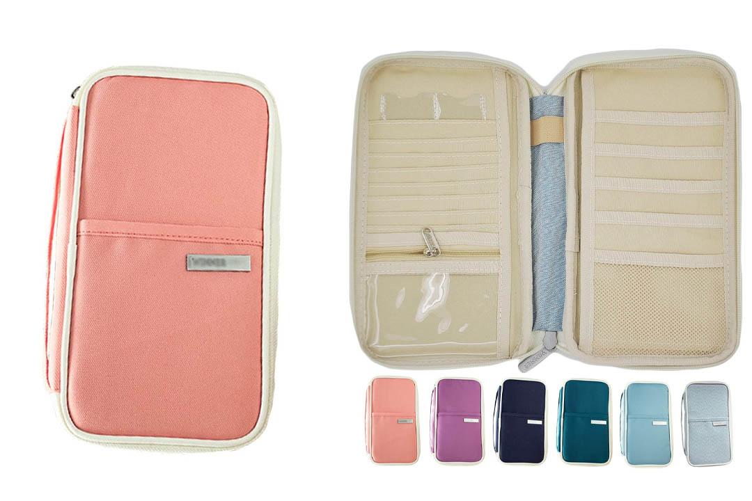 iSuperb Passport Wallet Organizer Waterproof Travel Bag